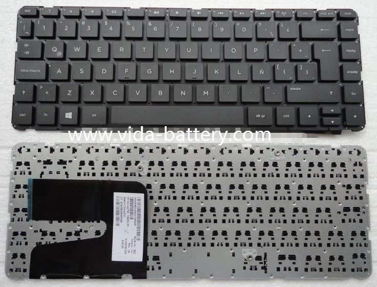 Latin La Layout Keyboard for HP Pavilion 14-E 14e Black