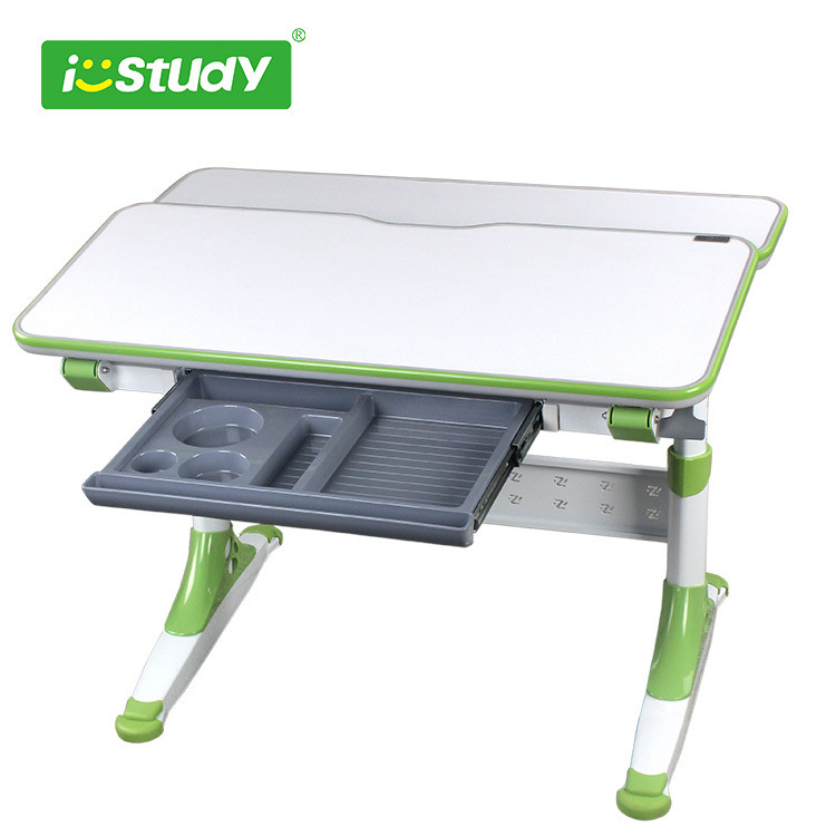 Ergonomic Wooden and Steel Ergonomic Table Children Table