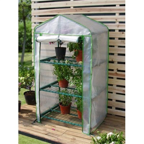3 Tier Mini Greenhouse with PE Cover