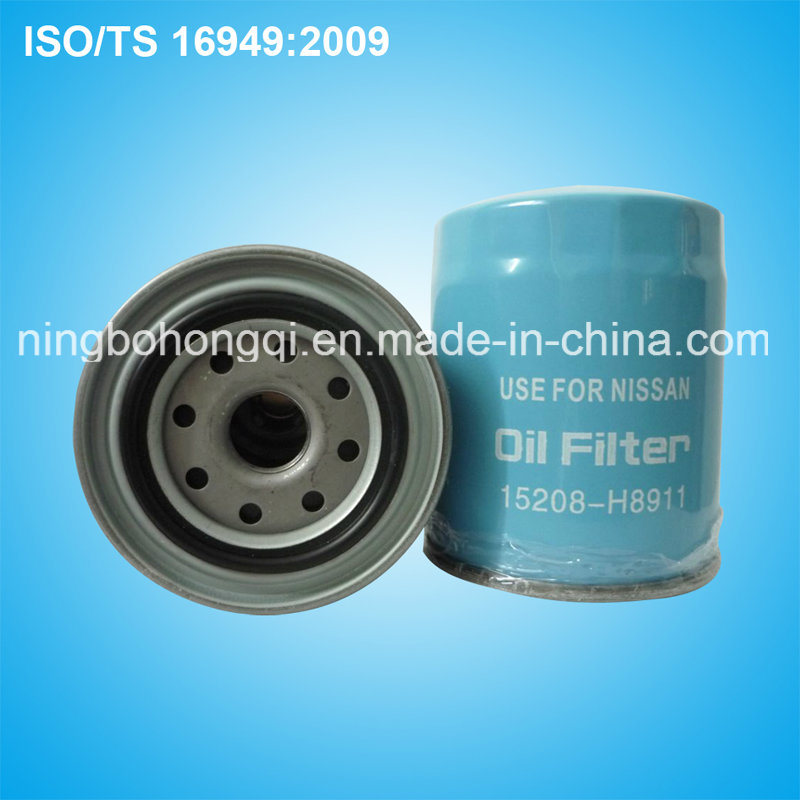 Factory Price Oil Filter for Nissan Sunny 15208-H8911
