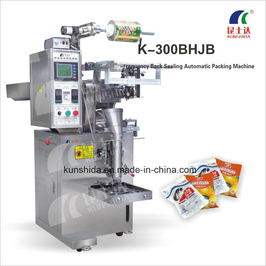 Frequency Back Sealing Automatic Packing Machine with Stainless Steel Body