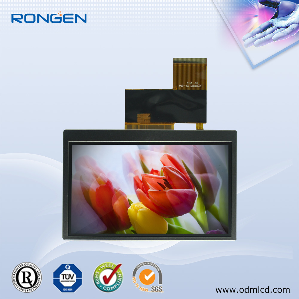 LCD Display 4.3 Inch Touch Screen with Rtp
