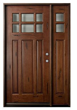 modern design double sliding glass wood door for living room