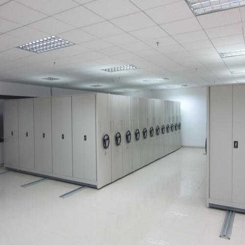 High Density Mobile Library Shelving