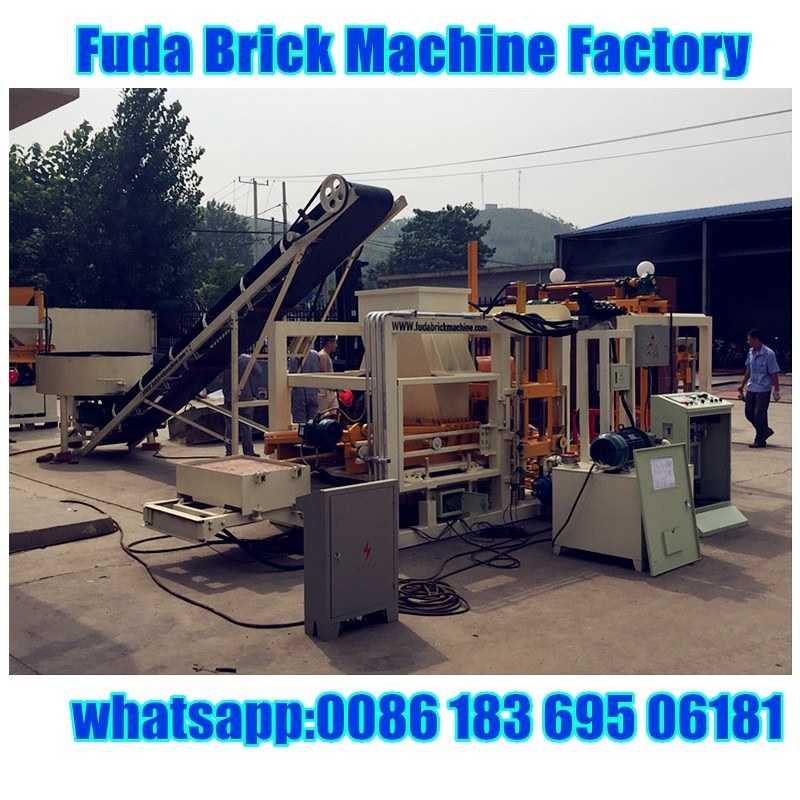 Full Automatic Hydraulic Press Interlocking Block Making Machine