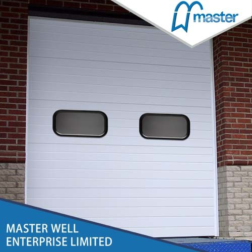 Galvanized Steel Industrial Sectional Overhead Garage Door / Automatic Garage Door