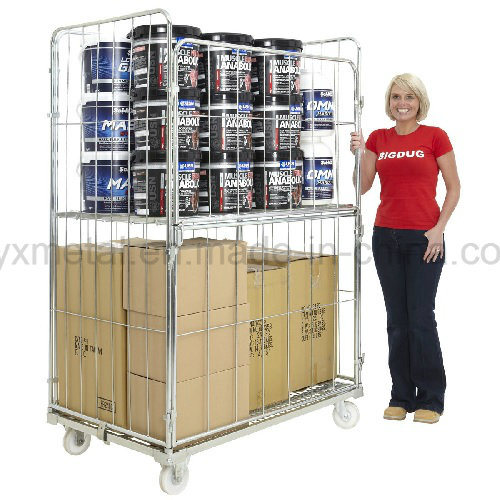 Folding Four Sides 4 Sided Full Security Mesh Roll Cage