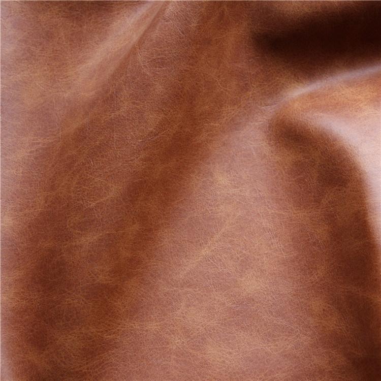 High Quality Plain Microfiber Imitated Sofa Upholstery Leather