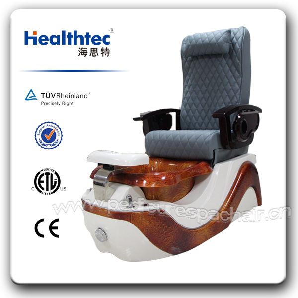 Wooden Pedicure Chair Used in Beauty Salon (C116-17-S)