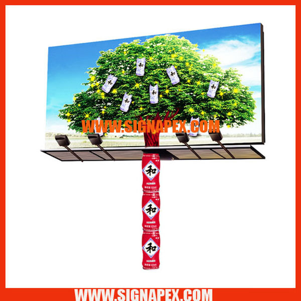 High Strength Yarn Frontlit Flex PVC Banner Sf550
