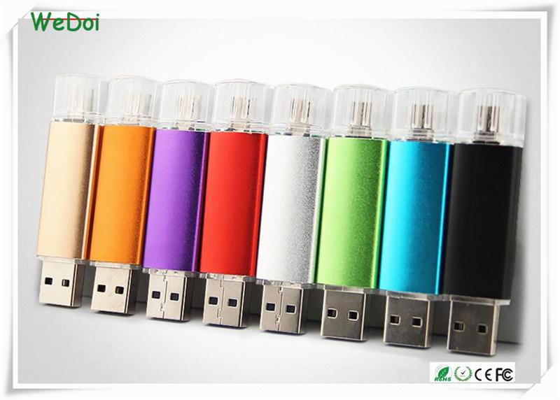 Smart OTG USB Flash Drive with 1 Year Warranty (WY-pH01)