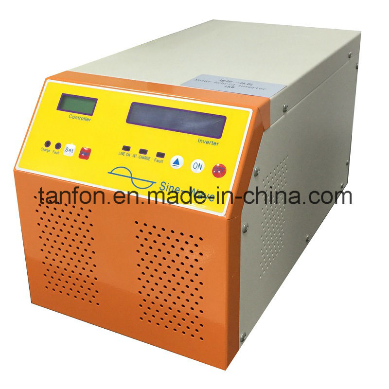 Hybrid Solar Inverter Built in MPPT Controller 300W-10kw Capacity