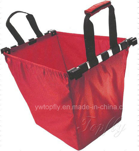 Foldable Shopping Grocery Bag for Supermarket Trolleys & Cart Carrier