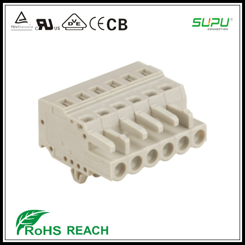 450 Series Female Connector with Spring-Cage Clamp