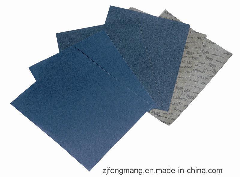 C-Wt Latex Paper Silicon Carbide Abrasive Paper/Sandpaper FM58