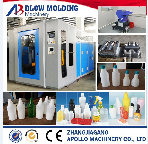 CE Approved Extrusion Plastic Cans Blow Molding Machine Ablb65