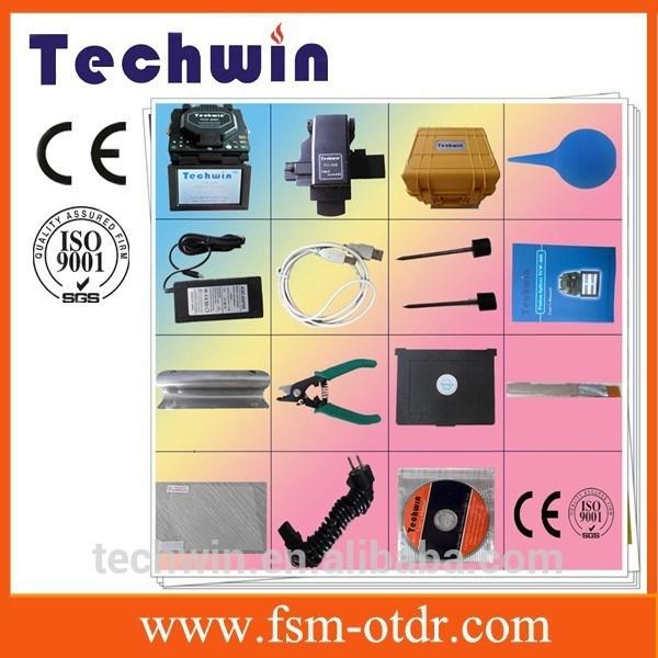 Techwin Optical Fiber Fusion Splicer Tcw-605c