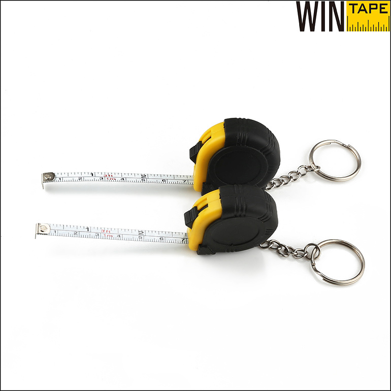 Promotional Items Mini Steel Tape Measure Metal Key Chain (MST-029)