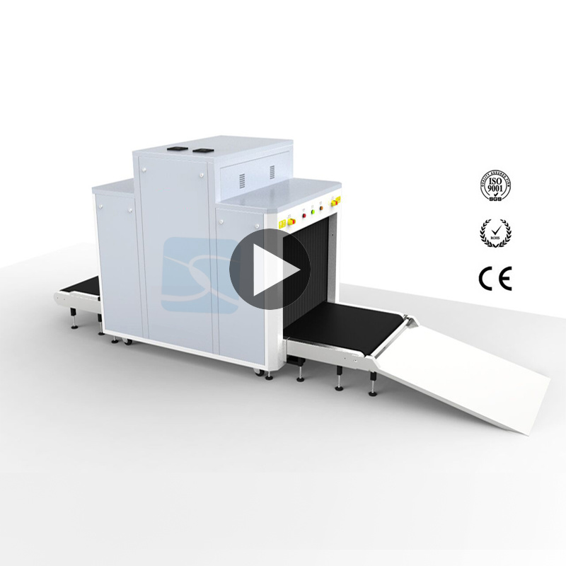 Airport Usage 30mm Penetration High Resolution X-ray Baggage machine for Luggage Inspection