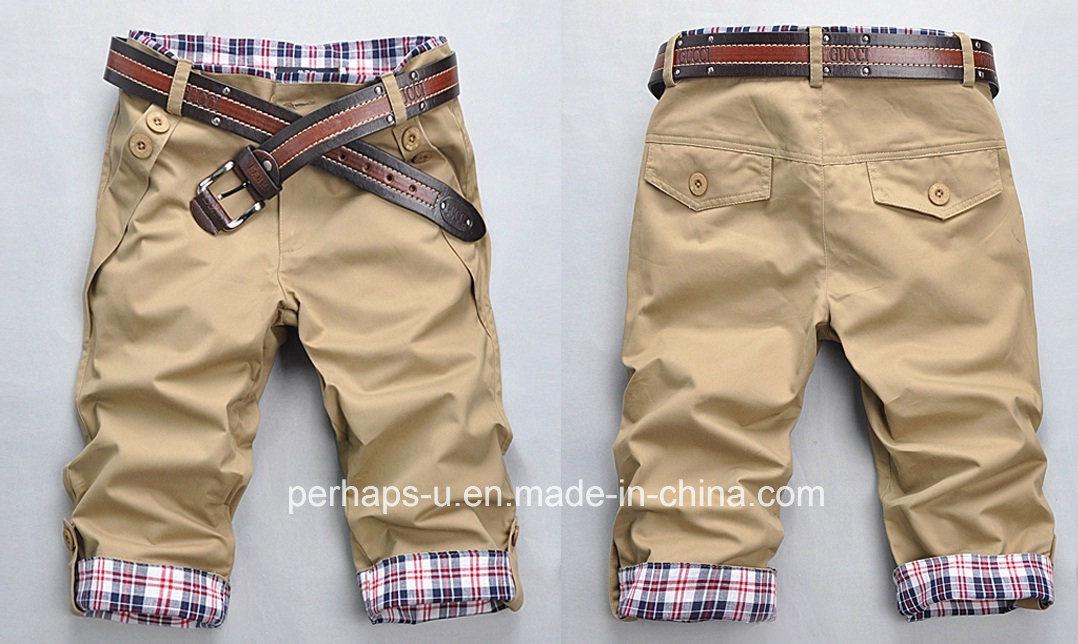 Fashion Mens Print Chinos Shorts