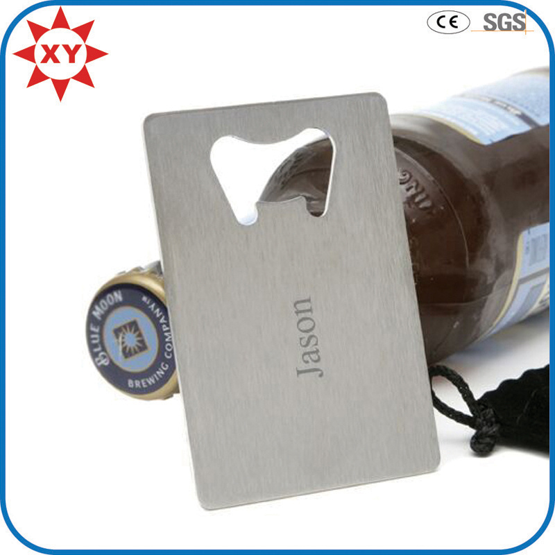 Custom Logo Credit Card Ruler Beer Bottle Opener