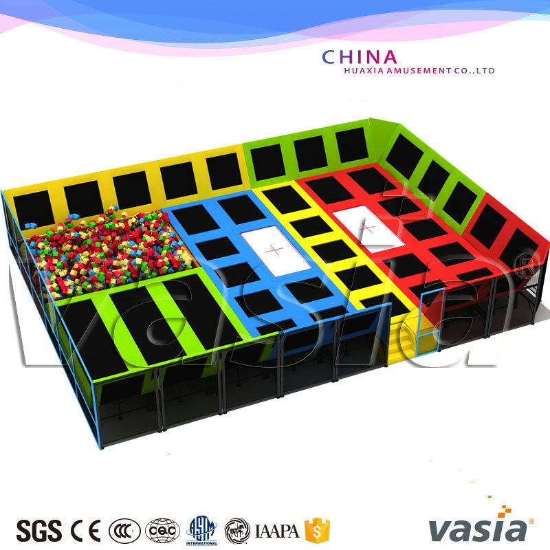 Huaxia Olympic Trampoline Big Gym Trampoline Park for Kids and Adult