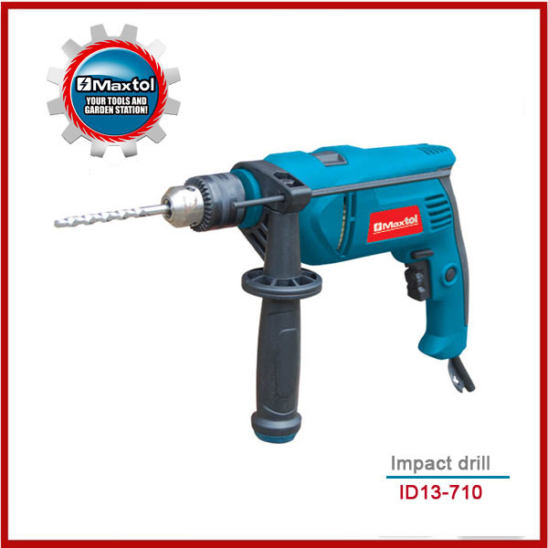 710W 13mm Impact Drill for Professional Use