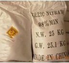 Purple Crystal 98% Ferric Nitrate for Industry (CAS No. 7782-61-8)