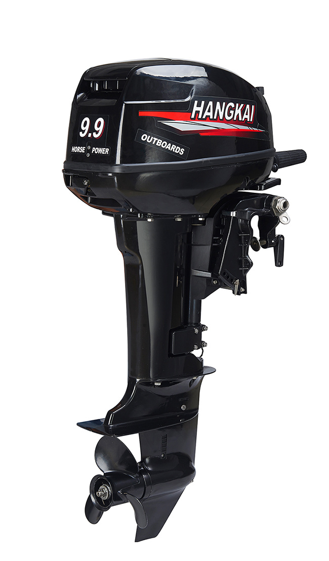 Short Shaft 9.9HP Two Stroke Marine Boat Engine Outboard