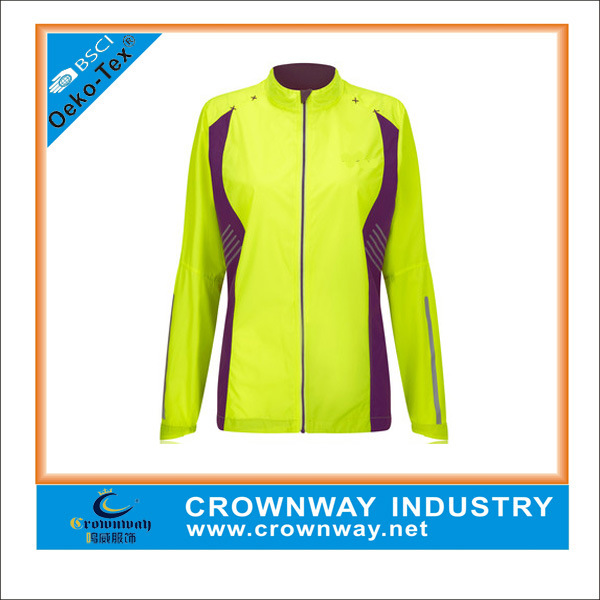 China Custom Best Lightweight Winter Running Jacket for Women
