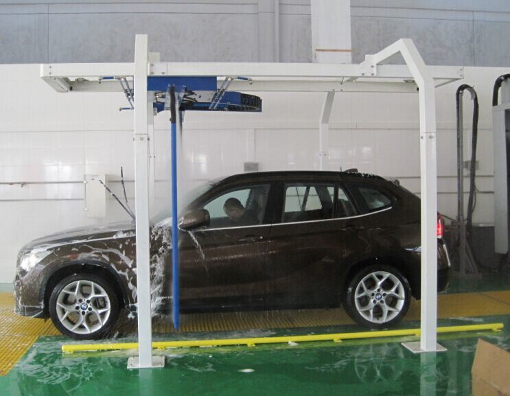Automatic Car Wash Machine for Washing Vehicle
