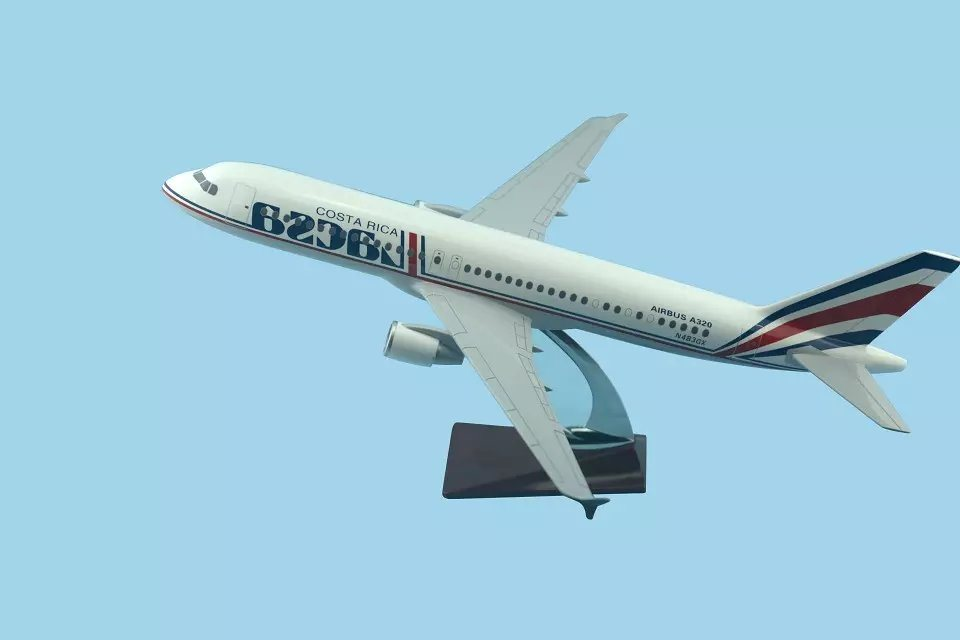 A320 Resin Airplane Model