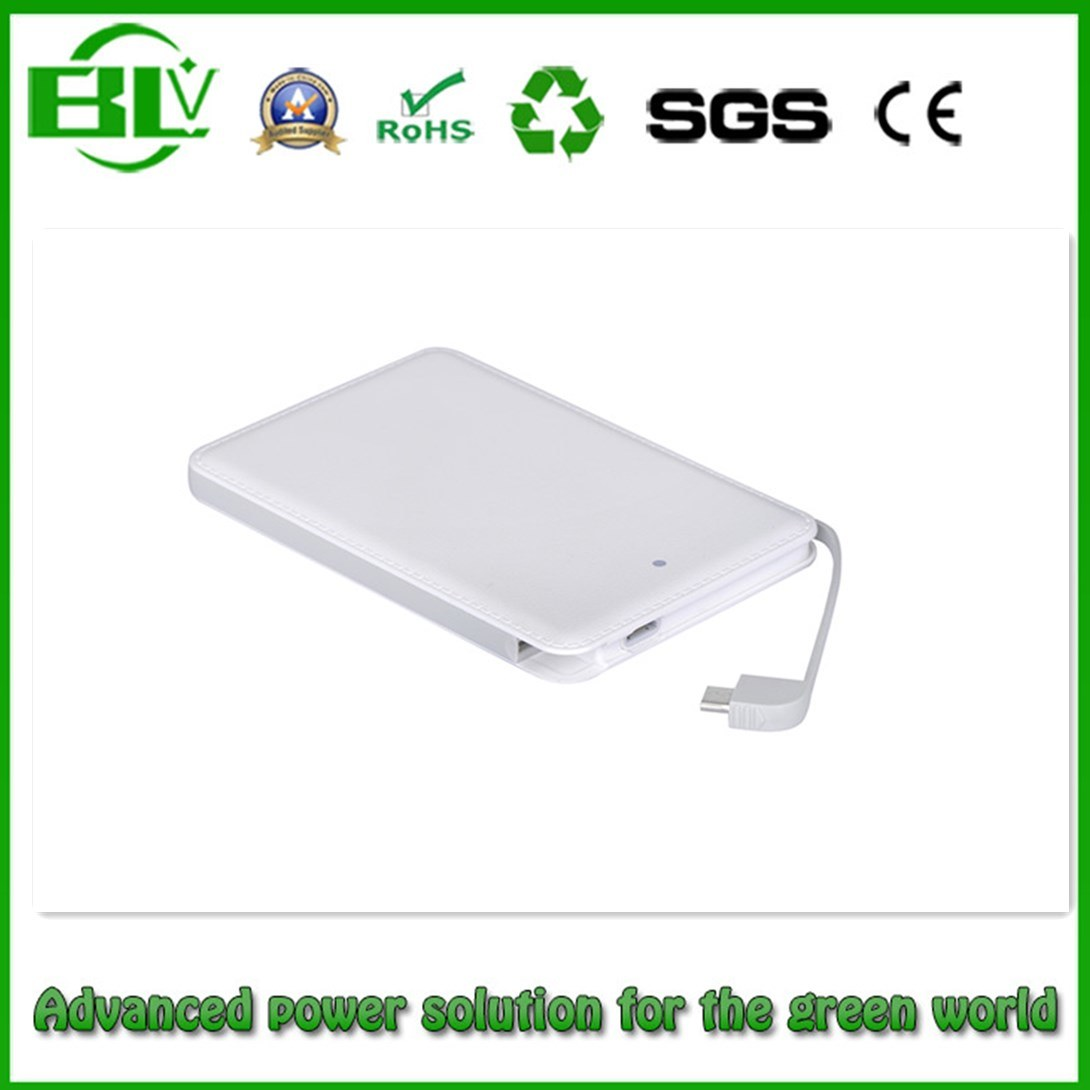 New Promotional Gift Items 2015 Ultra Slim Name Card Credit Card Power Bank 2500mAh OEM
