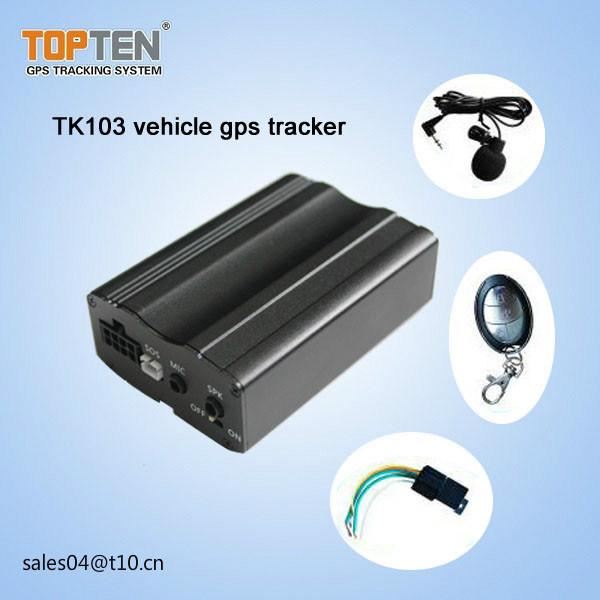 GPS Car Alarm with Door Open Alert, Remotely Cutoff Engine Tk103-Ez