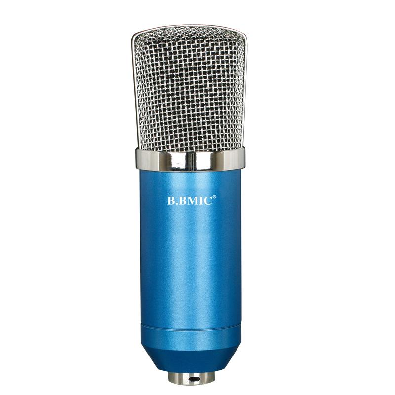 3.5 Plug No Need 48V Computer Studio Microphone