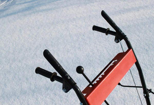 196cc Battery Start Gasoline Snow Blower