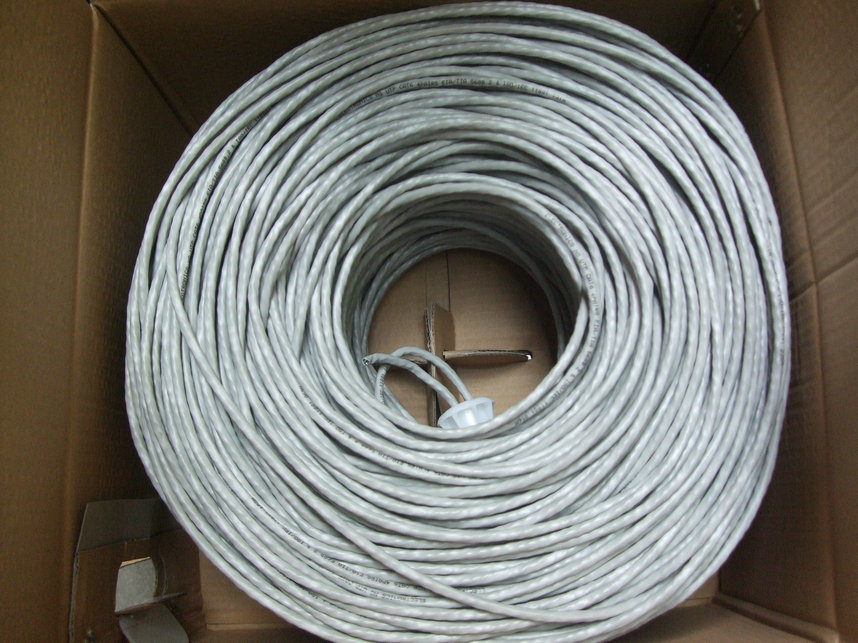 305m/Box UPT Cat5e Data LAN 4pairs Network Cable
