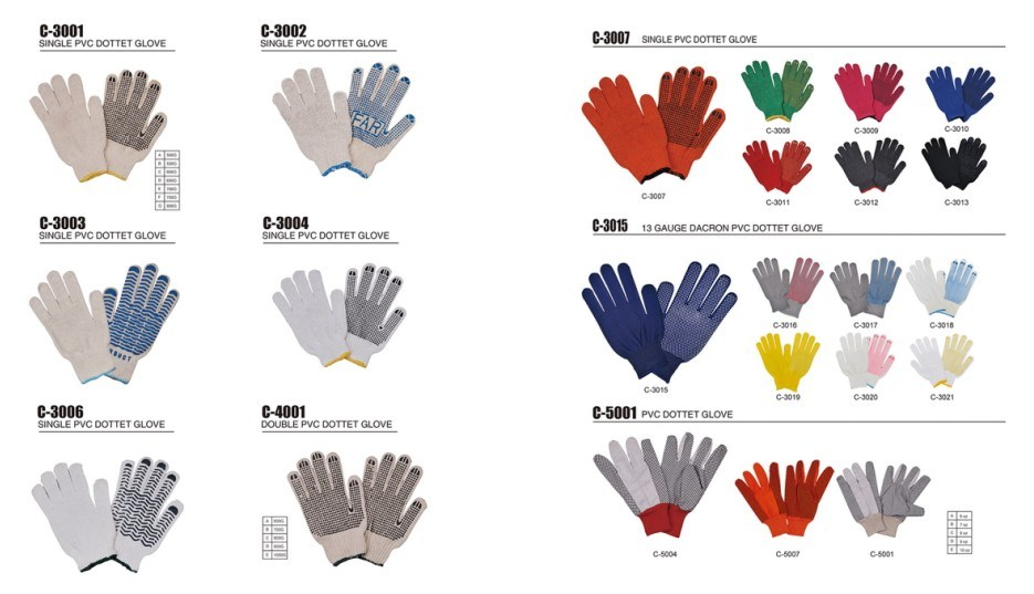 Men Leather Welding Glove/Reinforced Palm Gloves