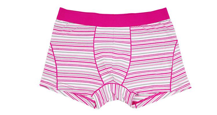 95%Cotton/5%Pendex Men Boxers Brief Underwear Boxers Brief Fashion for 249-Pink
