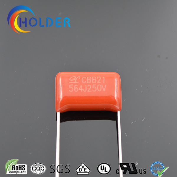 Capacitor (Cbb21 564j/250V P=15 Polypropylene) for Appliance Circuit Board