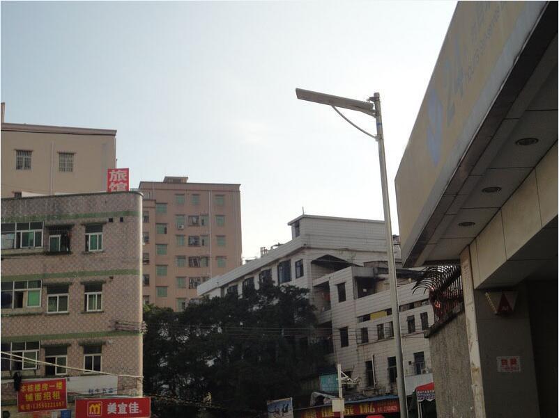 Solar LED Street Light 20W All in One Design with Motion Sensor