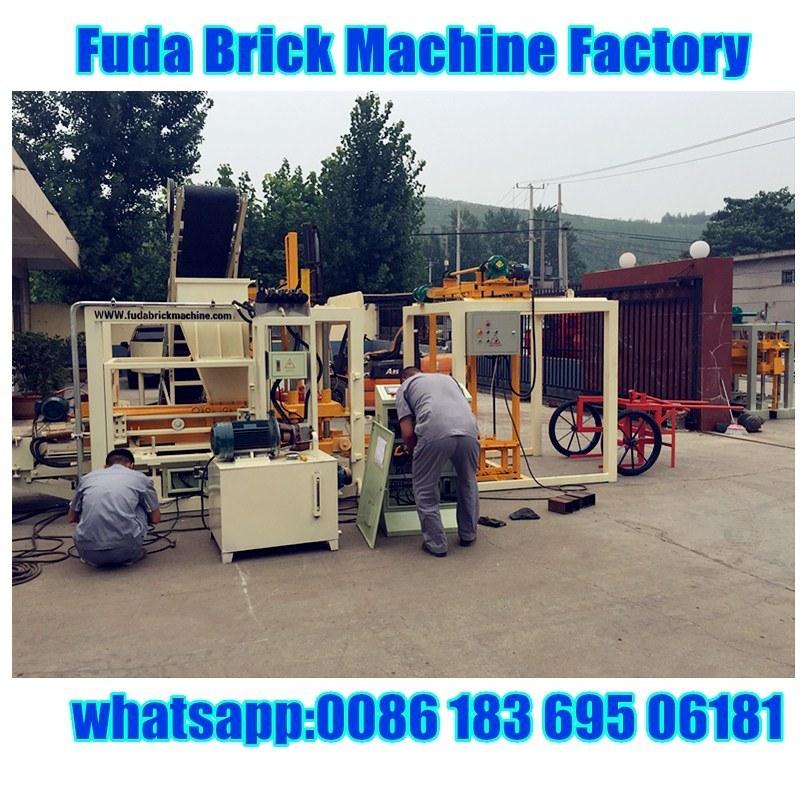 Full Automatic Hydraulic Press Interlocking Block Making Machine
