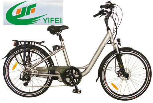 Ce 26 Inch City Electric Bicycle with 250W Motor