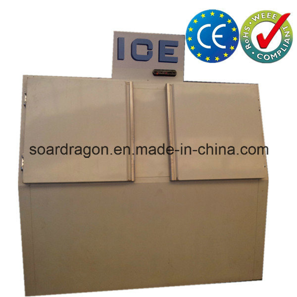 Cold Wall Ice Storage Merchandiser with Slant Doors (DC-600)