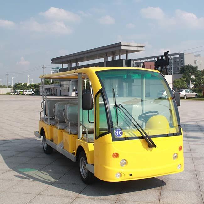Battery Power Electric 14 Seater Tourist Passenger Car (DN-14)