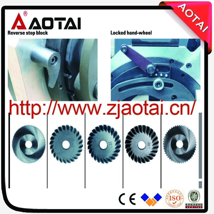 Saw Bit Blade Cold Cutting, Automatic Orbital Ss Pipe Cutting and Beveling Machine