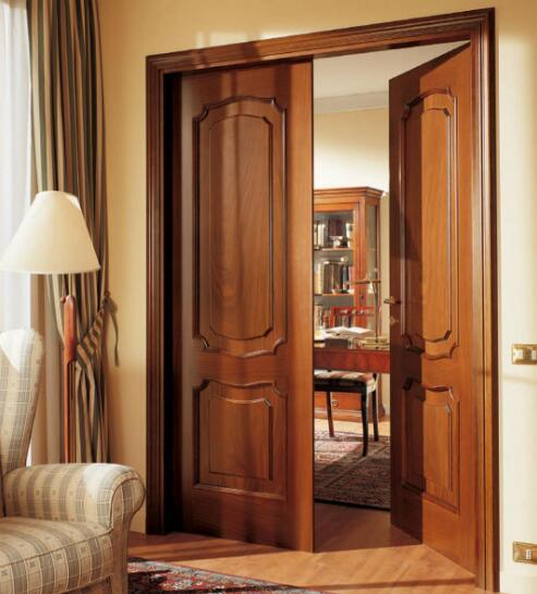 Europe Solid Wood Door (CL-2041)