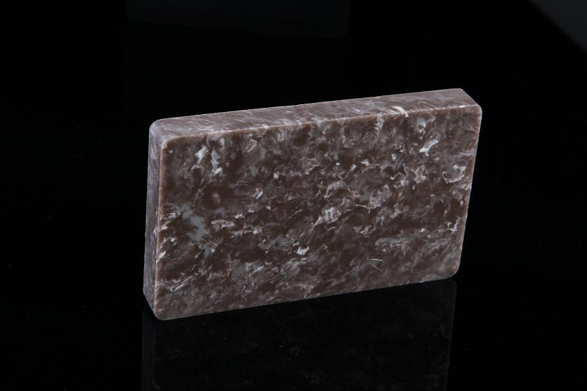 Gray Translucent Acrylic Nature Texture Artificial Stone D15