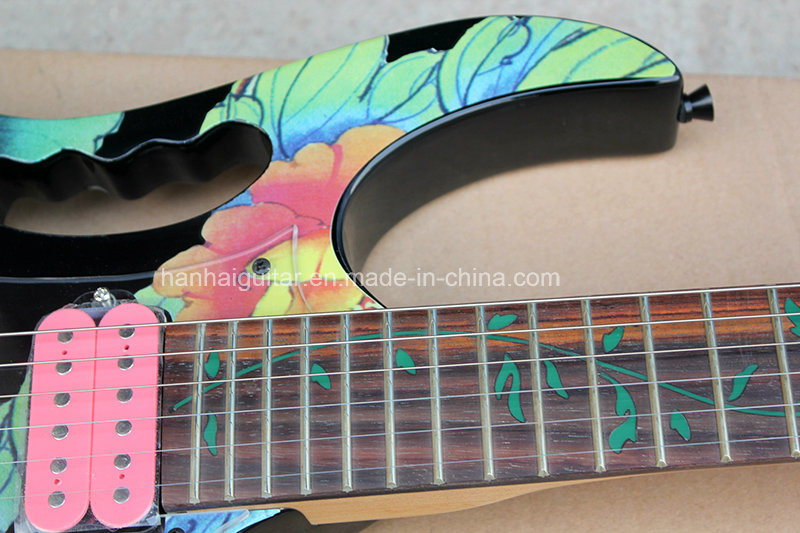 Hanhai Music / Beautiful Electric Guitar with Floyd Rose