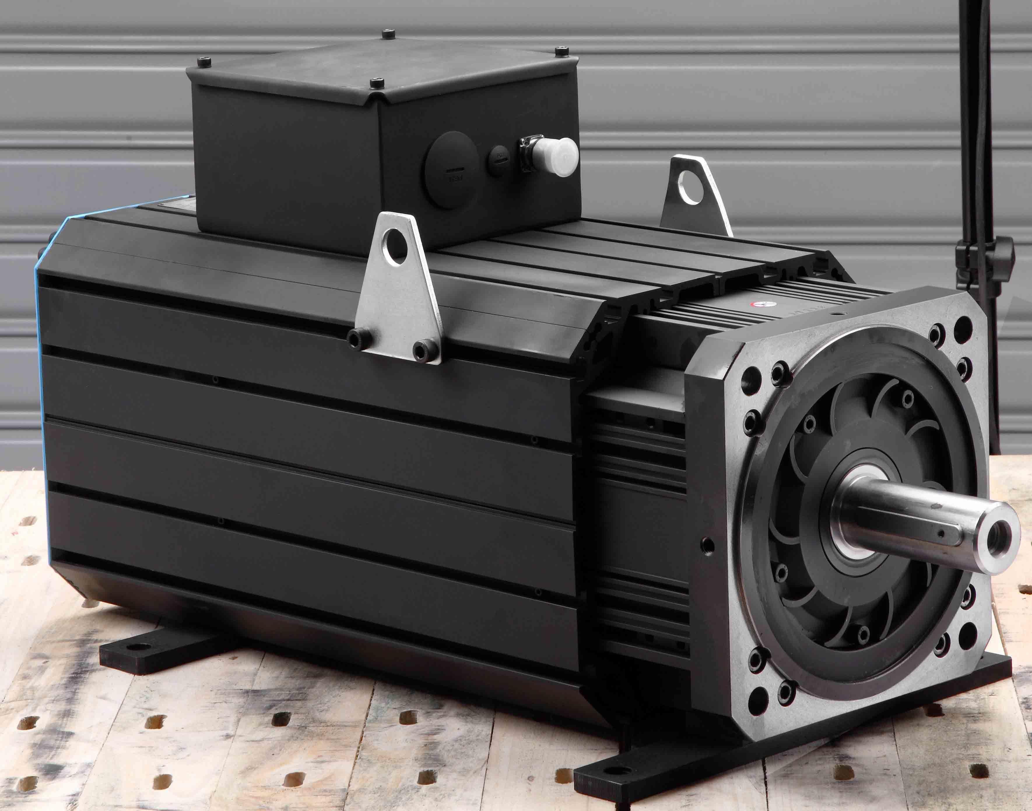 AC Permanent Magnet Servo Motor (300YSD20F 365NM 2000RPM)